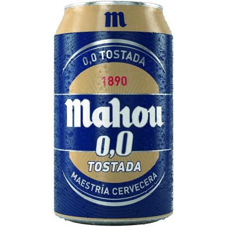 MAHOU 00 TOSTADA 1/3 LATA (24)