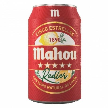 MAHOU RADLER 1/3 LATA (24)